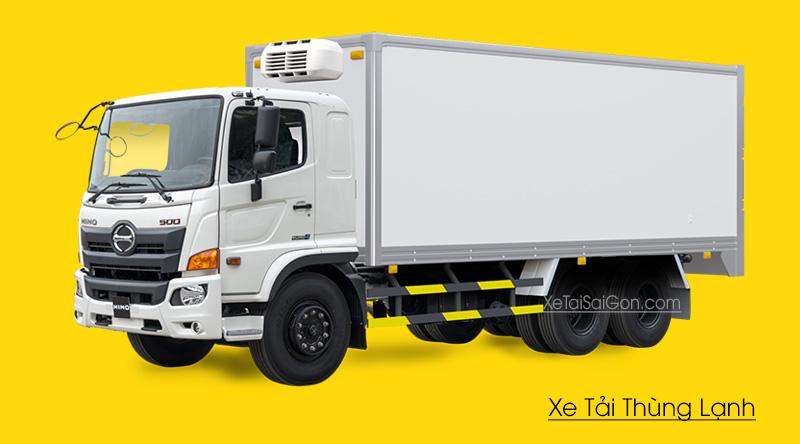 Xe tải Hino 3 chân đông lạnh