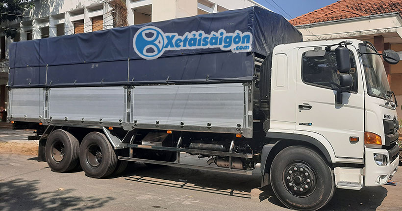 Xe tải Thùng kèo mui bạt bửng nhôm cao cấp