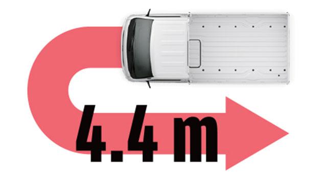 xe tải nhỏ chạy đô thị với bán kính quay đầu nhỏ