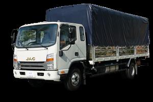 Xe tải JAC N650 Plus mui bạt 6.6 tấn 629.000.000 VNĐ
