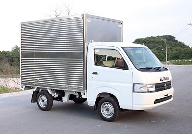 Xe tải Suzuki 700kg thùng kín, Suzuki carry pro