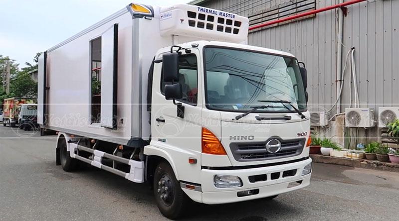 Xe tải đông lạnh Hino 6 tấn