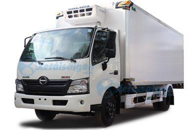 Xe tải Hino XZU730L thùng đông lạnh
