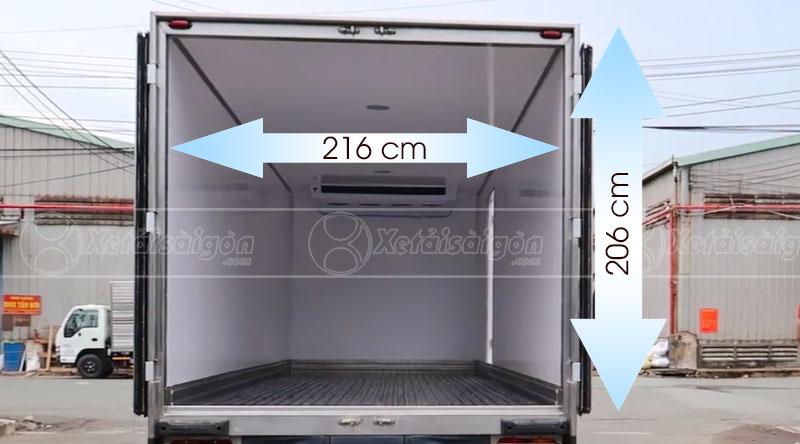 Thùng xe tải đông lạnh Hino FC