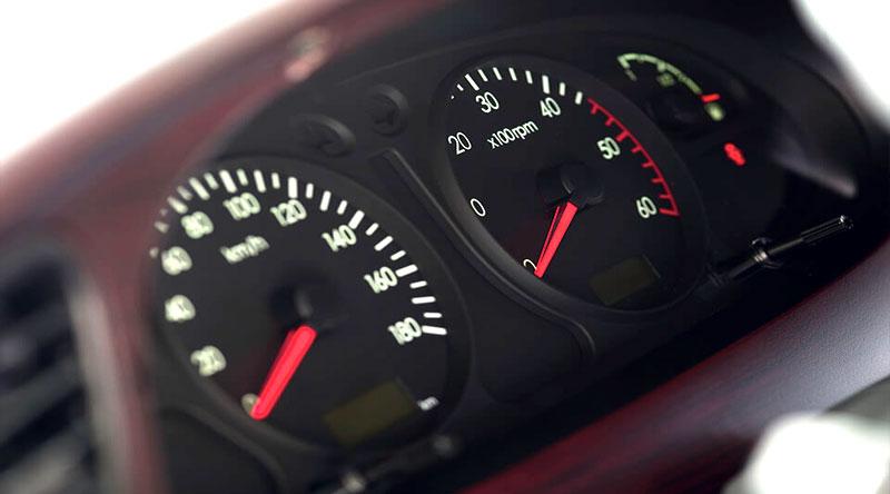 Cụm đồng hồ cơ của xe tải 2 tấn Hyundai
