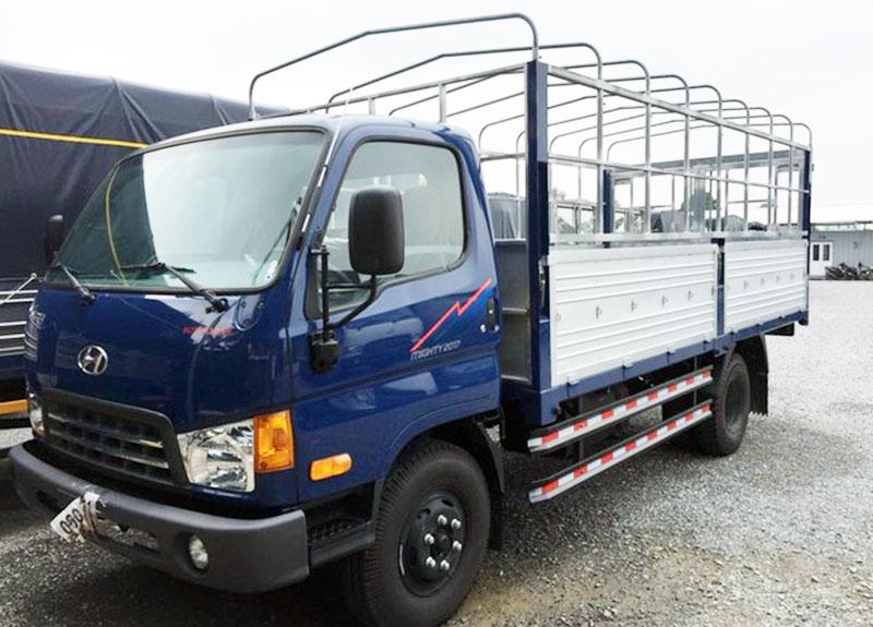 Xe tải thùng kèo mui bạt 2.4 tấn Hyundai