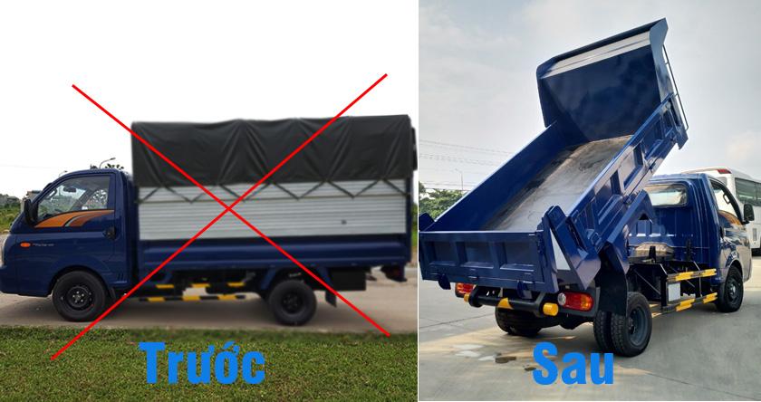 Chi phí hoán cải thùng xe tải