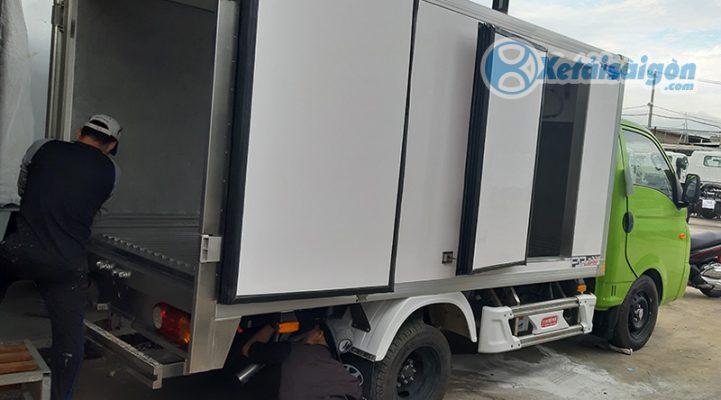 Sửa chữa thùng xe đông lạnh