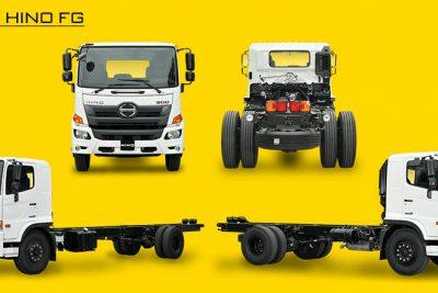 Chassi xe tải Hino 8 tấn FG