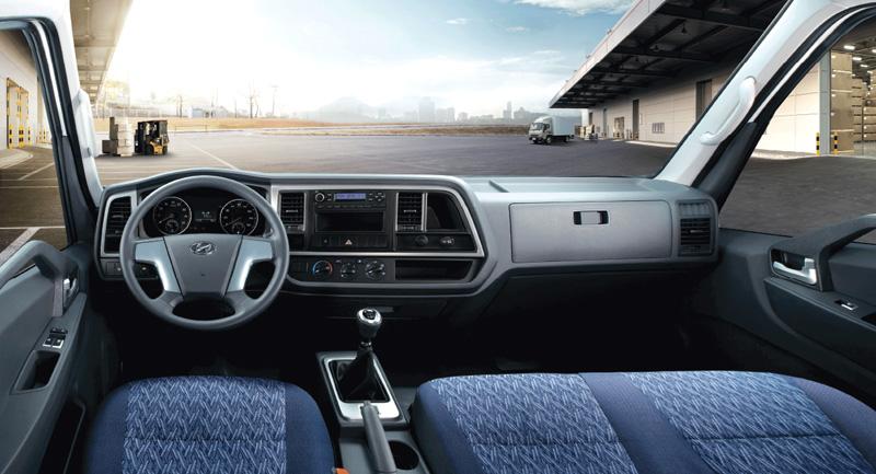 Cabin Xe tải Hyundai Mighty EX8 GT
