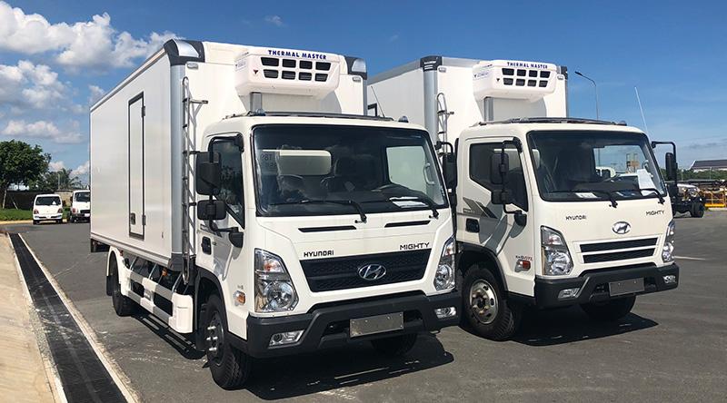 Xe Tải Đông Lạnh Hyundai EX8 GTS2 Cao Cấp