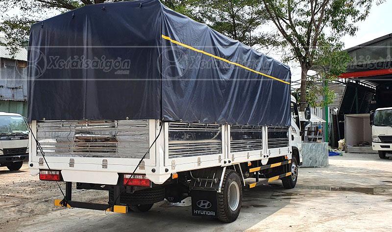 Xe Tải Hyundai EX8 GTS2 Thùng Mui Bạt 7 Tấn, Thùng 5m4