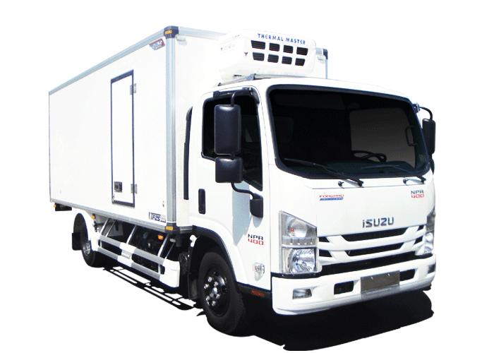 Xe tải đông lạnh Quyền Auto dưới 6 tấn
