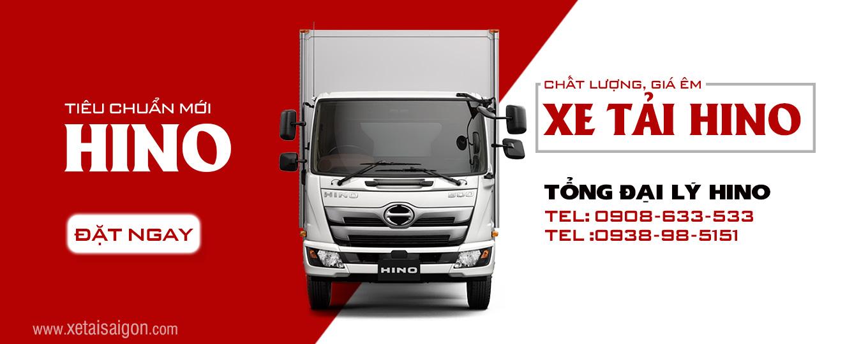 Tổng đại lý bán Xe tải Hino Sài Gòn