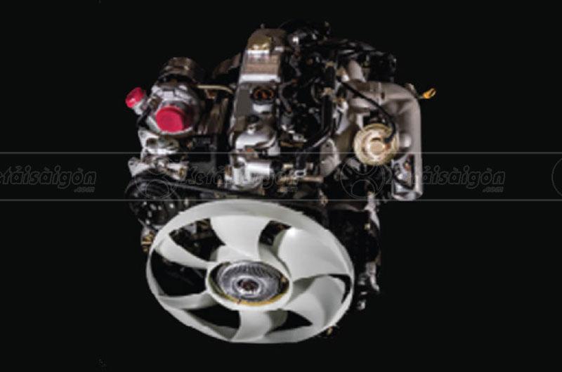 Cụm động cơ tiết kiệm nhiên liệu của xe tải IZ49