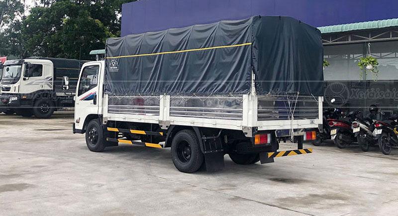 Thùng xe tải mui bạt IZ68s DoThanh