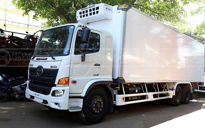Xe Hino FL8JT7A thùng đông lạnh