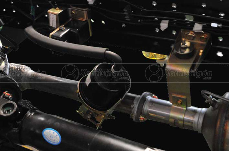 Hệ thống phanh khí xả an toàn