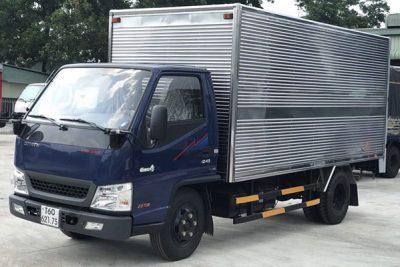 Xe tải Đô Thành Iz49 Thùng Kín Inox