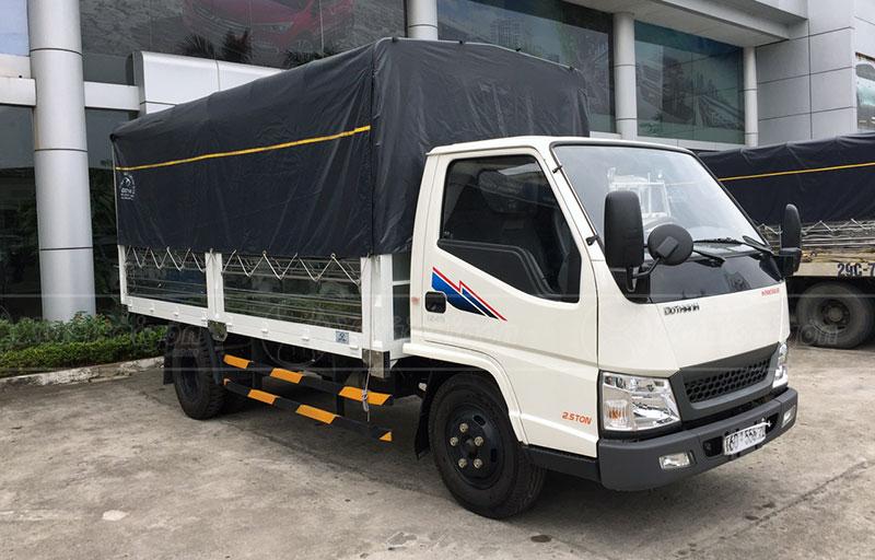 Xe Tải IZ49 Thùng Kèo Mui Bạt 2.5 tấn