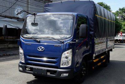 IZ65 thùng bạt 3.5 tấn, bán trả góp
