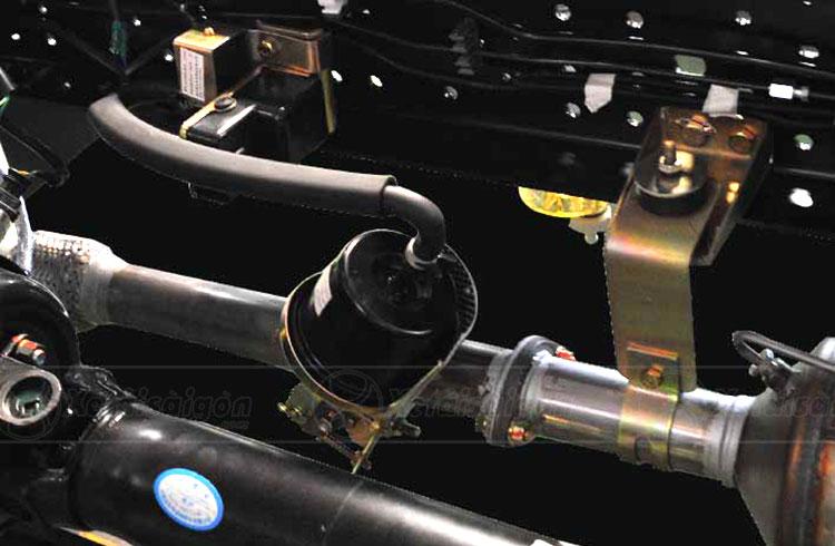 Hệ thống phanh khí xả của xe tải 3.5 tấn IZ65 Do thanh