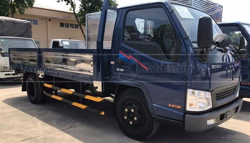 Xe tải Đô Thành IZ65 3.5 Tấn Thùng Lửng