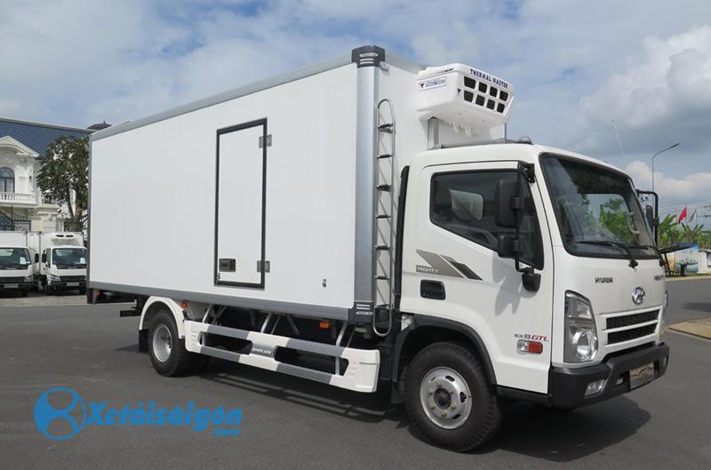 xe tải đông lạnh Hyundai 6.4 tấn Mighty EX8 GTL