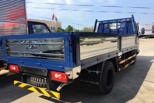 Đuôi thùng lửng xe tải Iz49
