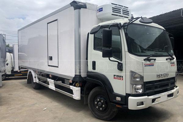 Bán xe tải đông lạnh 6 tấn Isuzu trả góp, giá rẻ nhất Miền Nam