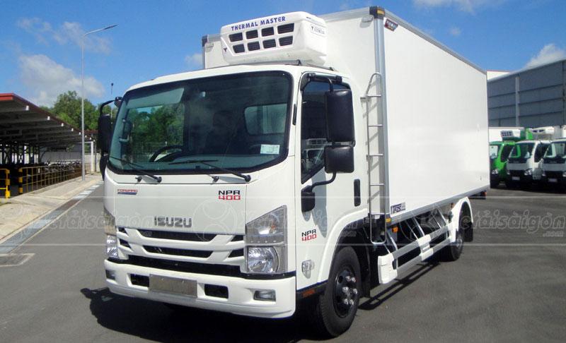 Xe tải đông lạnh 3.5 tấn ISUZU NPR400