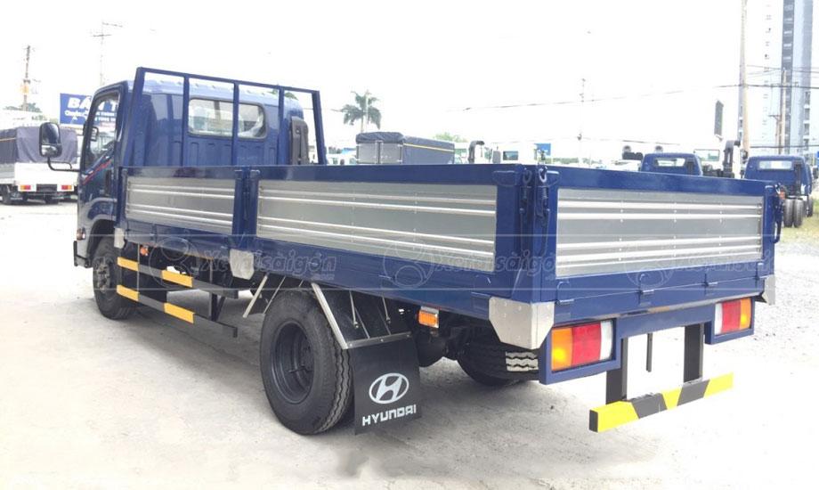 Đuôi thùng lửng xe tải IZ65 GOLD 3.5 tấn