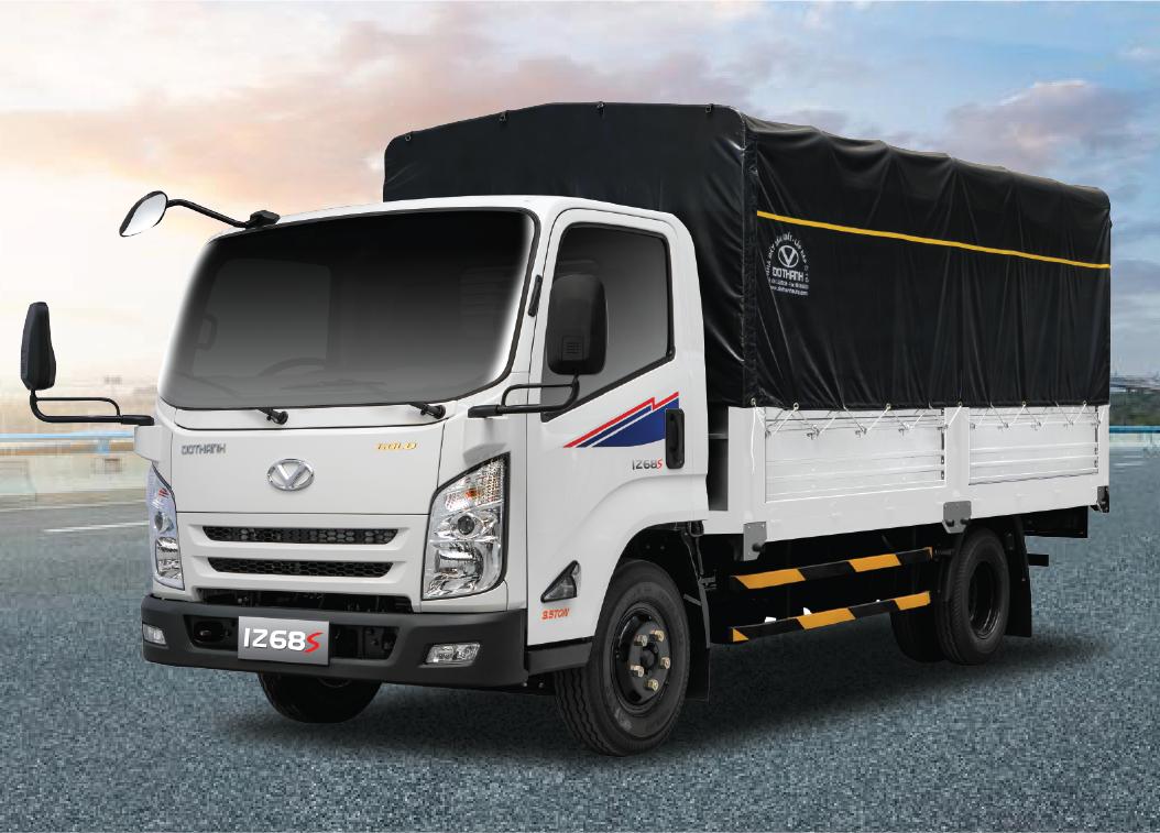 Xe tải Dothanh IZ68s thùng bạt