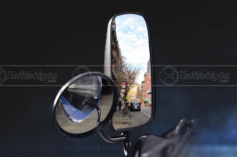 Gương chiếu hậu của xe 2.5 tấn Dothanh
