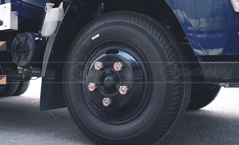 Bộ lốp xe và khung gầm đầm chắc