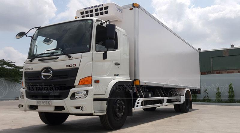 Xe tải đông lạnh Hino 8 tấn FG