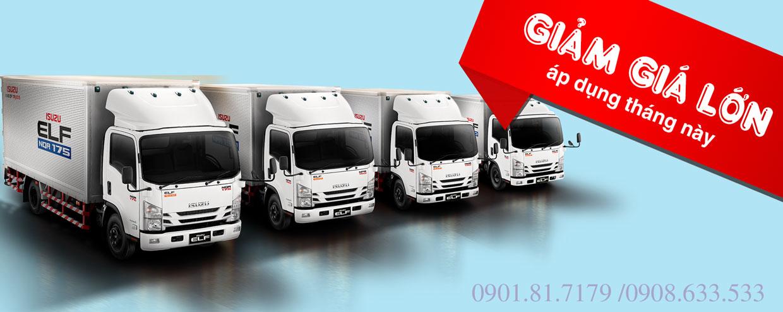 Giá xe tải Isuzu rẻ nhất, cập nhật liên tục