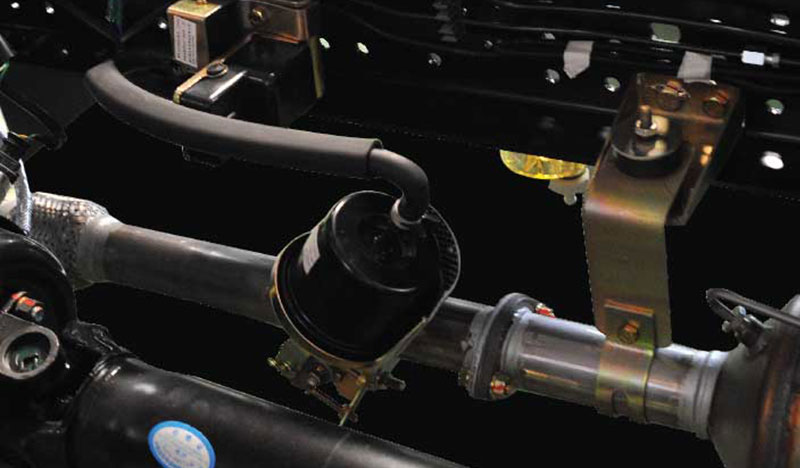Hệ thống phanh khí xả của xe tải IZ200