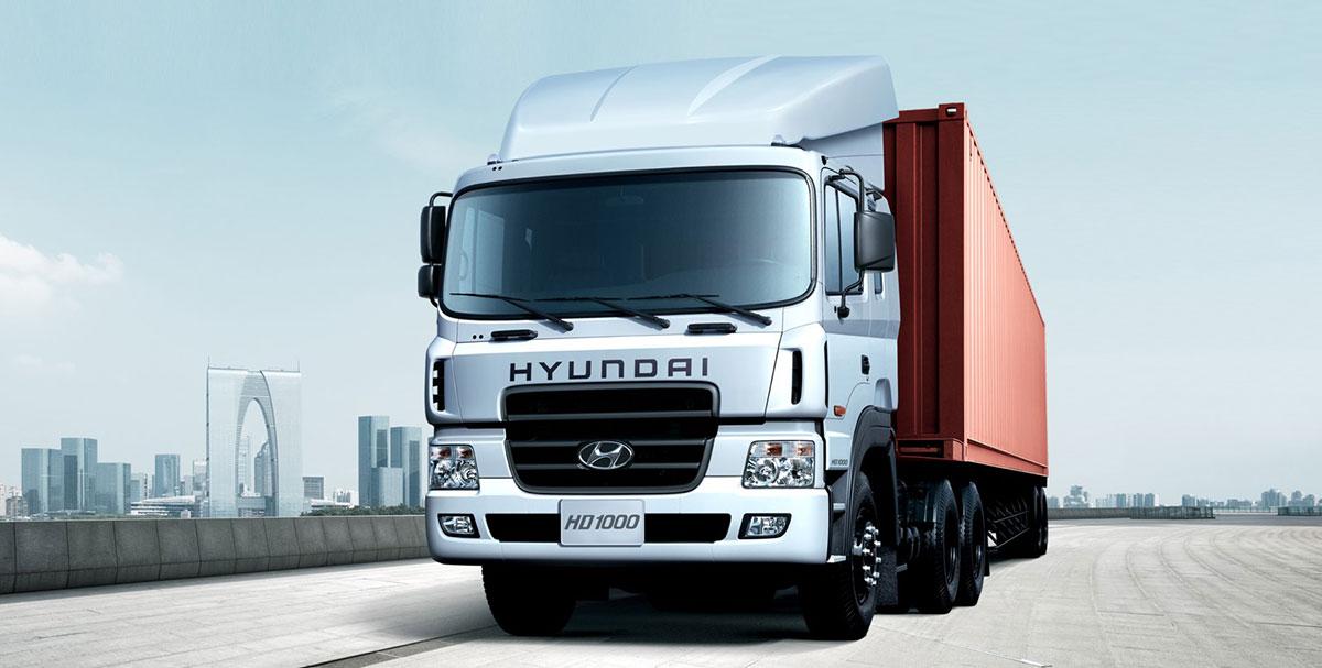 xe đầu kéo Hyundai HD1000 hàn Quốc