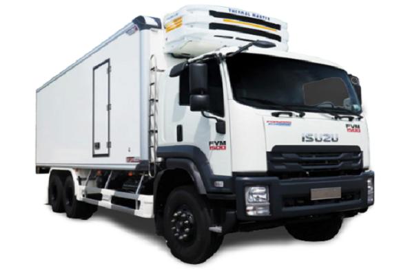 Xe tải đông lạnh Isuzu FRR90NE4 6 tấn