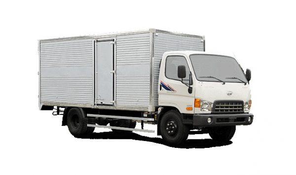 xe tải vea thùng kín
