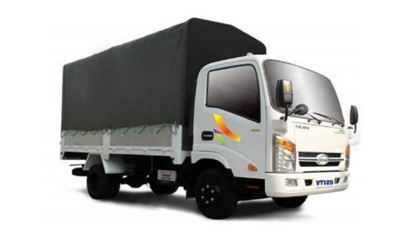 xe tải vea thùng mui bạt